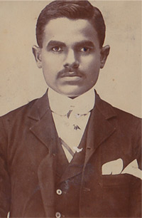 A very young Prabhulal Dwivedi
